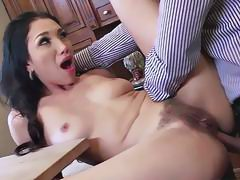 Sexy slut Vicki Chase likes it in the ass deep