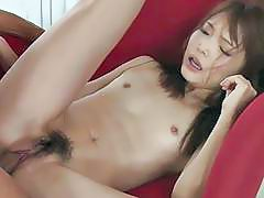 Hunk bangs a oriental sweetheart with his cock